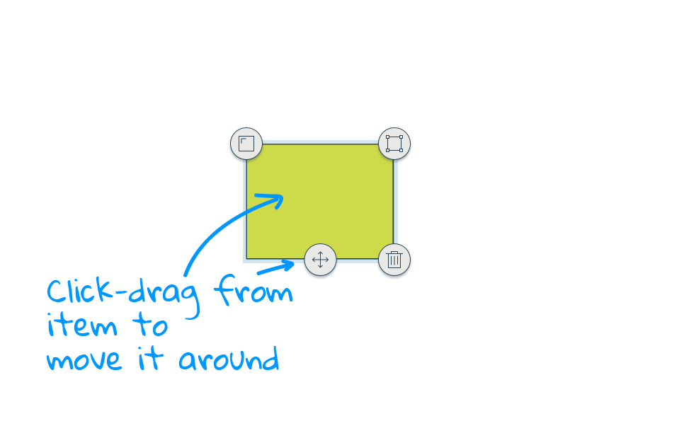 Drawing tools on whiteboards
